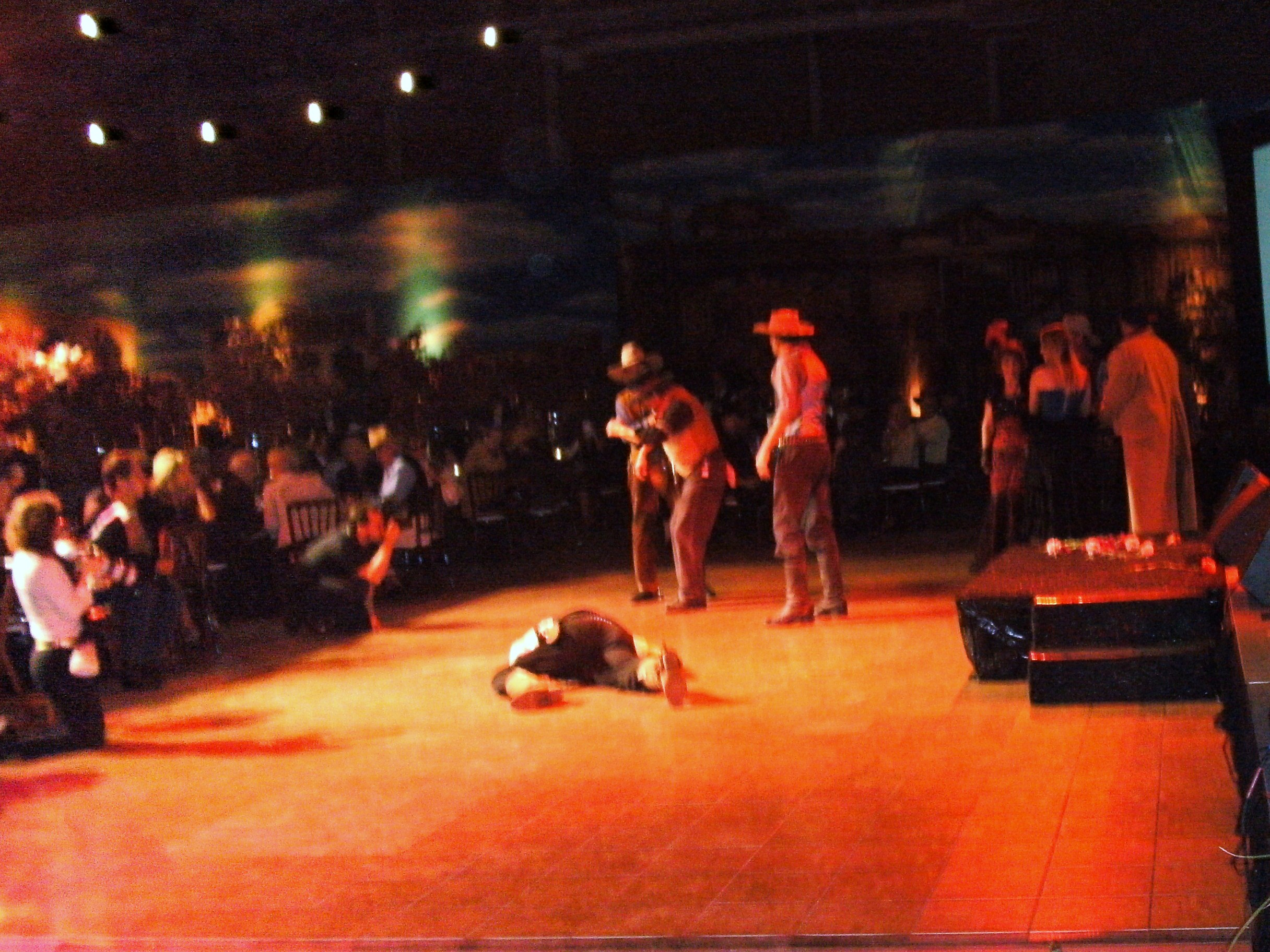 Outlaws - skit at Del Mar Gala Event