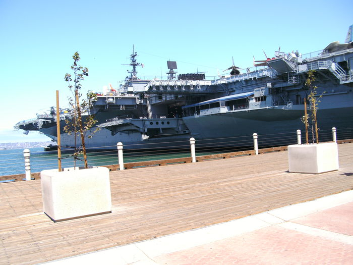 USS MIDWAY JULY 4 2012